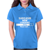 SARCASM NOW LOADING Womens Polo