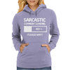 SARCASTIC COMMENT LOADING PLEASE WAIT FUNNY COOL HUMOUR Womens Hoodie