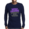 SATAN LAUGHING SPREADS HIS WINGS Mens Long Sleeve T-Shirt