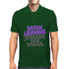 SATAN LAUGHING SPREADS HIS WINGS Mens Polo