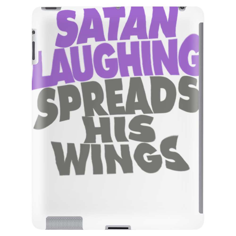 SATAN LAUGHING SPREADS HIS WINGS Tablet