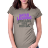 SATAN LAUGHING SPREADS HIS WINGS Womens Fitted T-Shirt