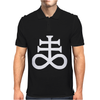 Satanic Cross Mens Polo