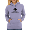 SATIRE FUNNY HUMOUR I LIKE THINK OF MY IN-LAWS AS BEING BEAUTIFUL TREES BECAUSE THEY ARE ALL SHADY A Womens Hoodie