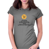 satire humour Pain or damage don't end the world Womens Fitted T-Shirt