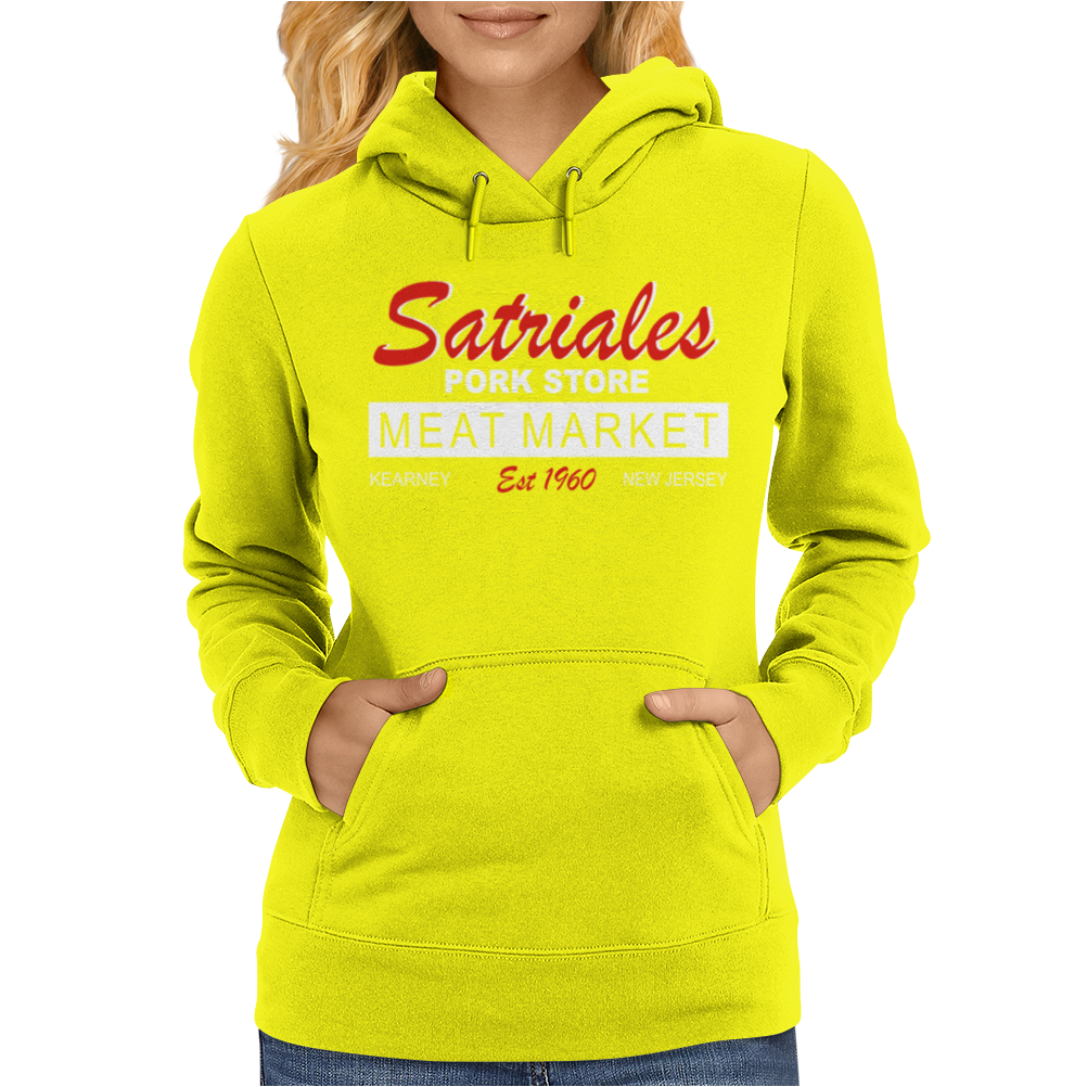 Satriale's Pork Store The Soprano's Inspired Tony Soprano Womens Hoodie