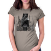 Saturn bat Womens Fitted T-Shirt