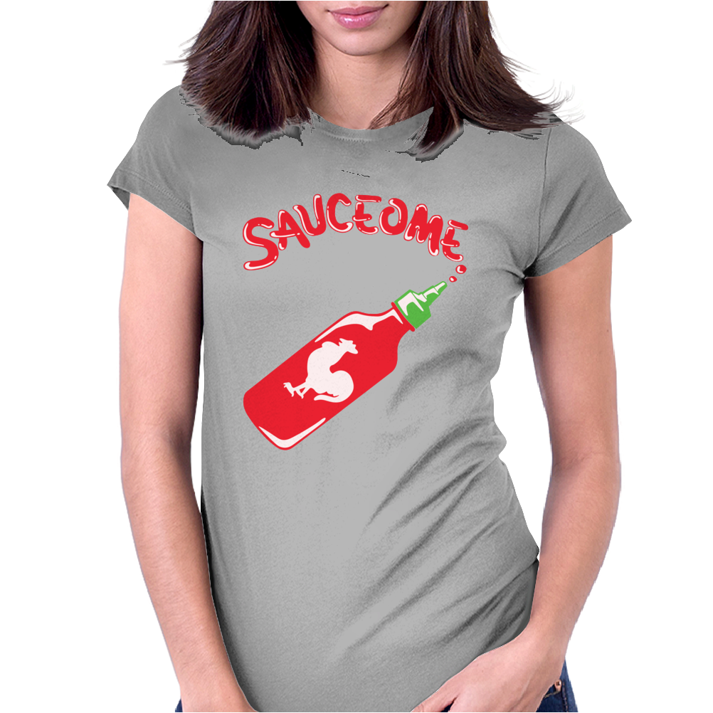 Sauceome Womens Fitted T-Shirt