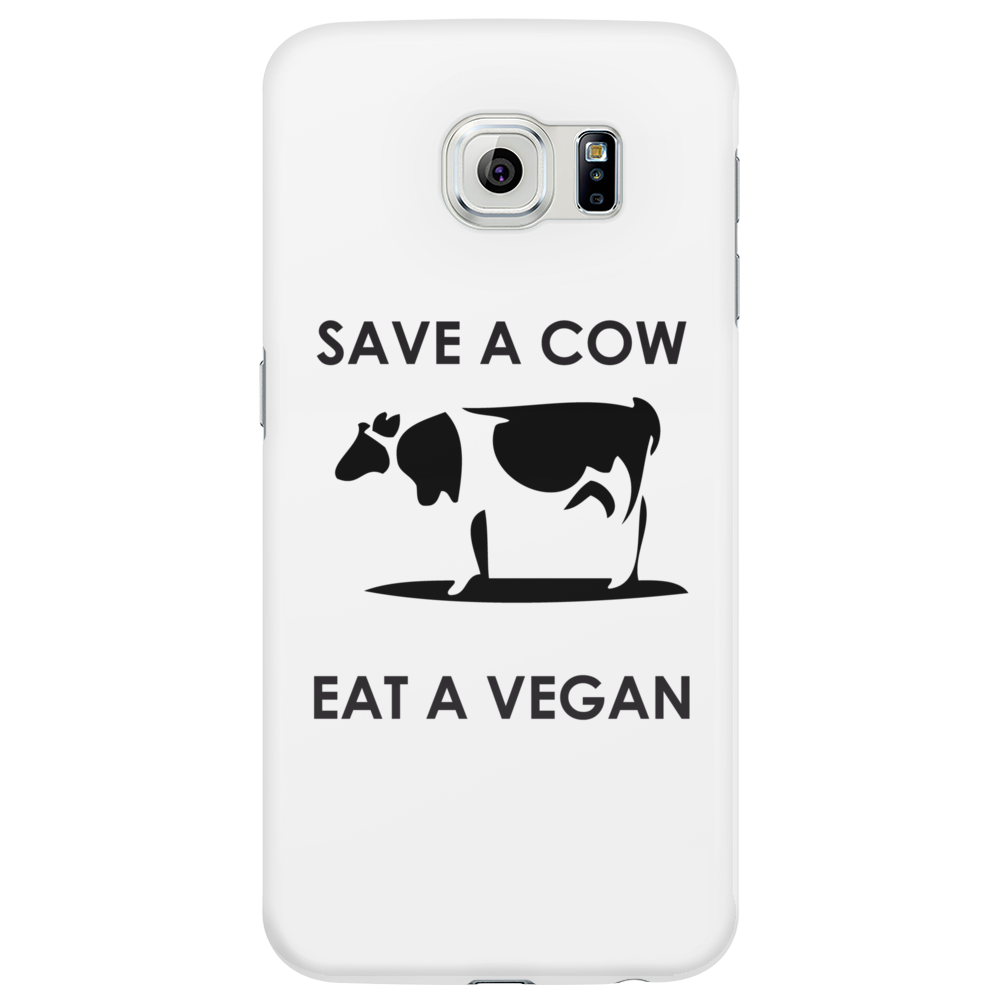 Save a Cow, eat a Vegan Phone Case
