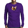 Save a Robin Graphic Mens Long Sleeve T-Shirt