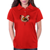 Save a Robin Graphic Womens Polo