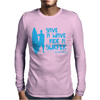 Save A Wave Ride A Surfer Mens Long Sleeve T-Shirt
