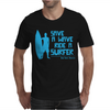 Save A Wave Ride A Surfer Mens T-Shirt