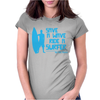 Save A Wave Ride A Surfer Womens Fitted T-Shirt