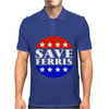 Save Ferris Tribute To Ferris Bueller's Mens Polo