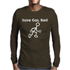 Save Gas Run Mens Long Sleeve T-Shirt