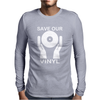 Save Our Vinyl Dj Club Mens Long Sleeve T-Shirt
