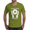 Save Our Vinyl Dj Club Mens T-Shirt