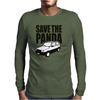 Save the Panda Mens Long Sleeve T-Shirt