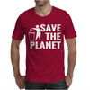 Save The Planet Atheist Mens T-Shirt