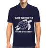 Save The Turtle Mens Polo
