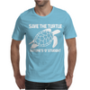 Save The Turtle Mens T-Shirt