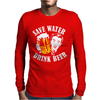 Save Water Drink Beer Mens Long Sleeve T-Shirt