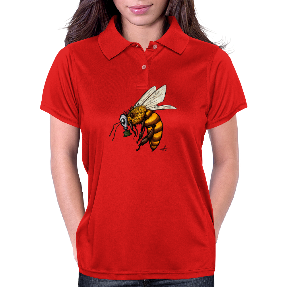 #savethebees Womens Polo