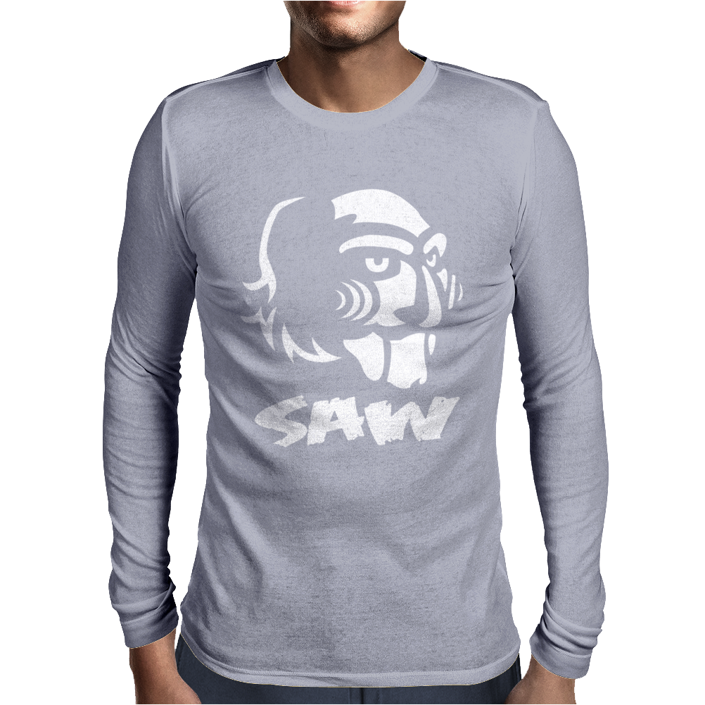 Saw Puppe Horror Mens Long Sleeve T-Shirt