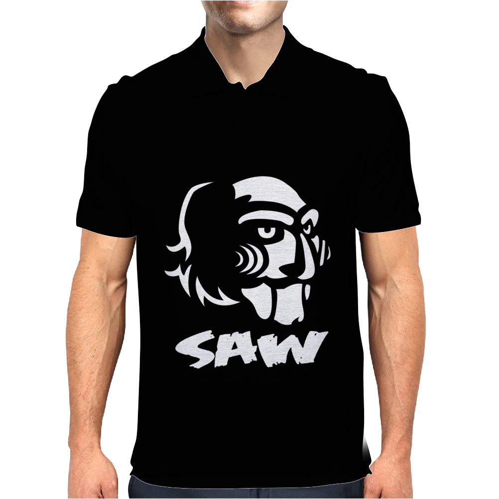 Saw Puppe Horror Mens Polo
