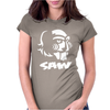Saw Puppe Horror Womens Fitted T-Shirt