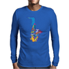 Sax Addict saxophone Mens Long Sleeve T-Shirt