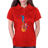 Sax Addict saxophone Womens Polo