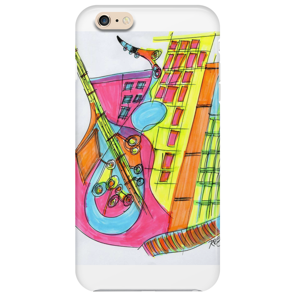 Sax In The City Phone Case