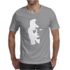Sax Player Lady face Optical Illusion Mens T-Shirt