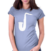 SAXAPHONE JAZZ MUSIC Womens Fitted T-Shirt