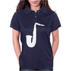 SAXAPHONE JAZZ MUSIC Womens Polo