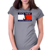 SAY HELLO Womens Fitted T-Shirt