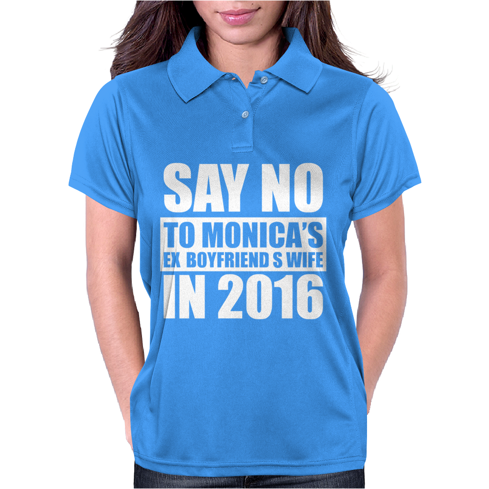 Say No To Hillary 2016 Presidential Run Womens Polo