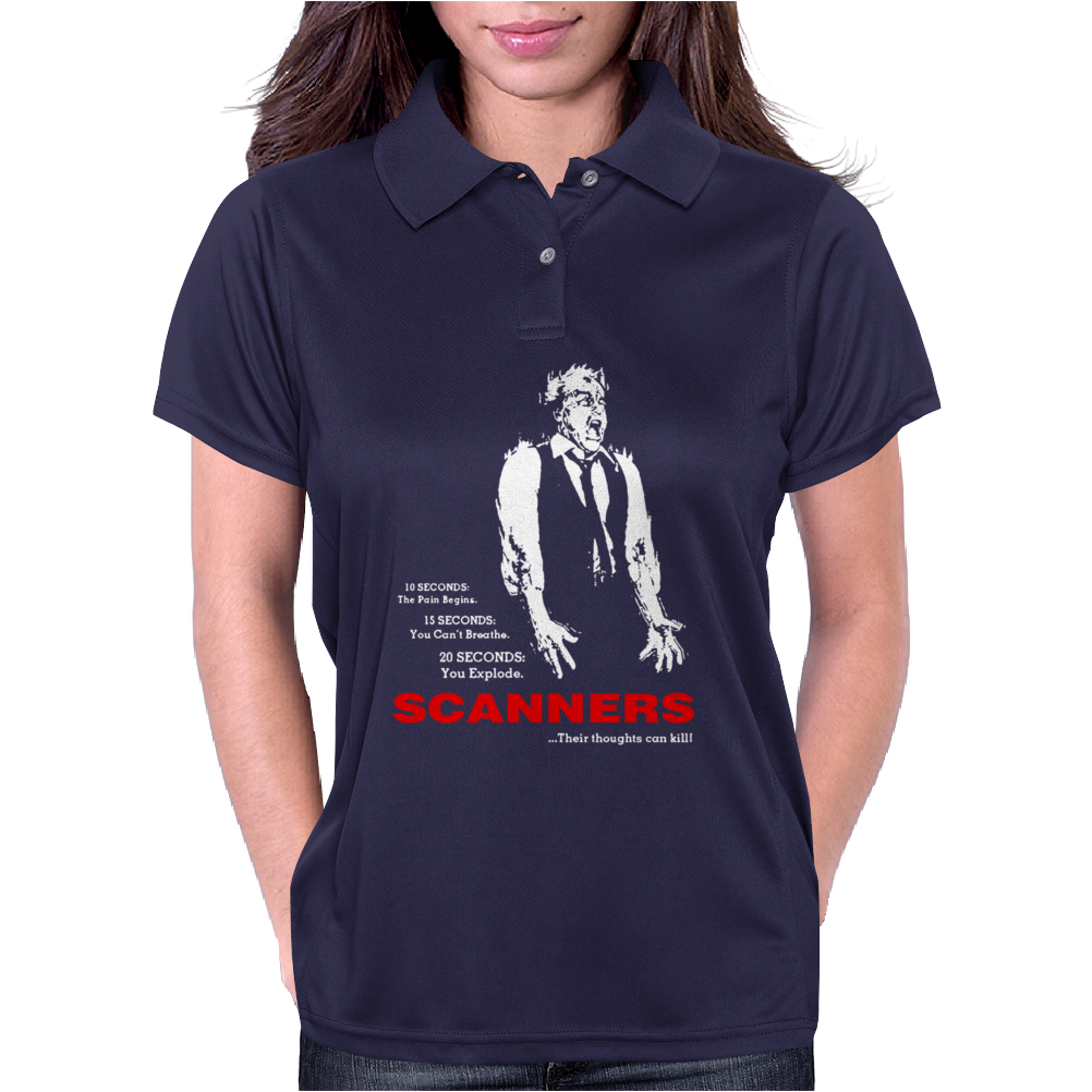 Scanners Cronenberg 80s Womens Polo