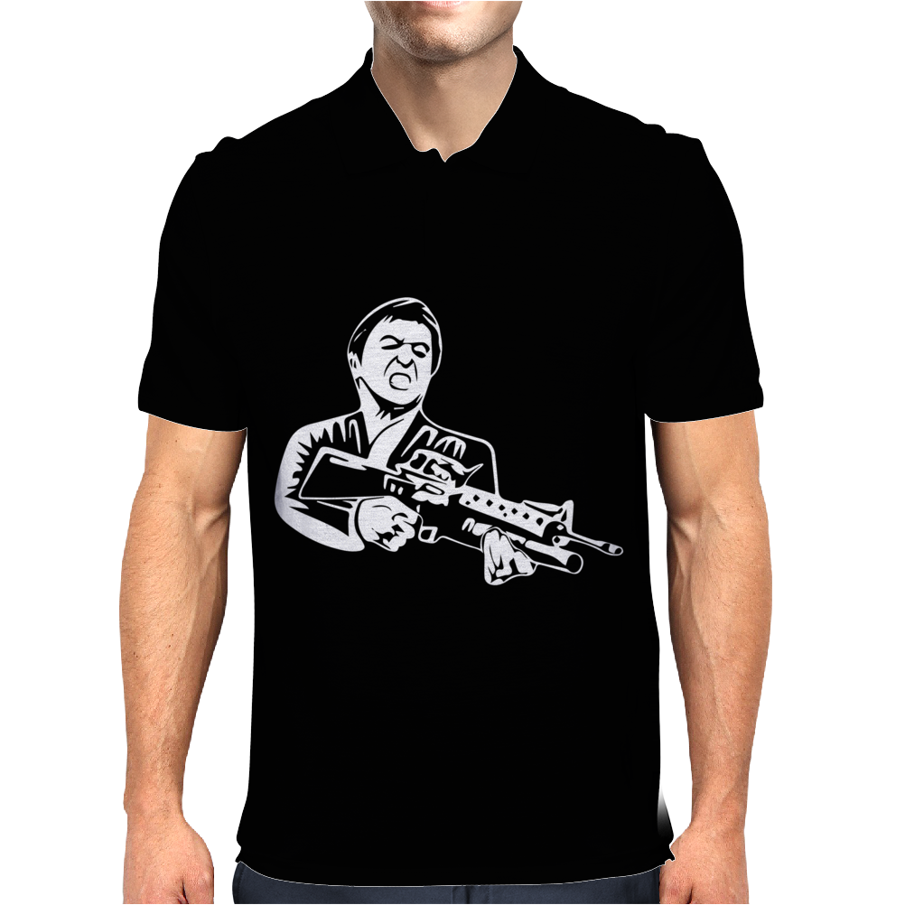 Scarface Film Tony Montana Kult Mens Polo