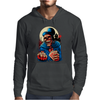 Scary Old Man Mens Hoodie