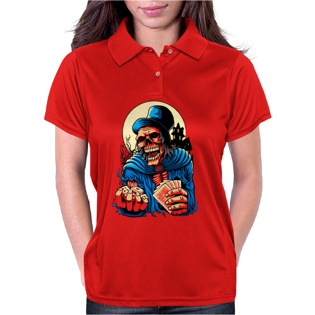 Scary Old Man Womens Polo
