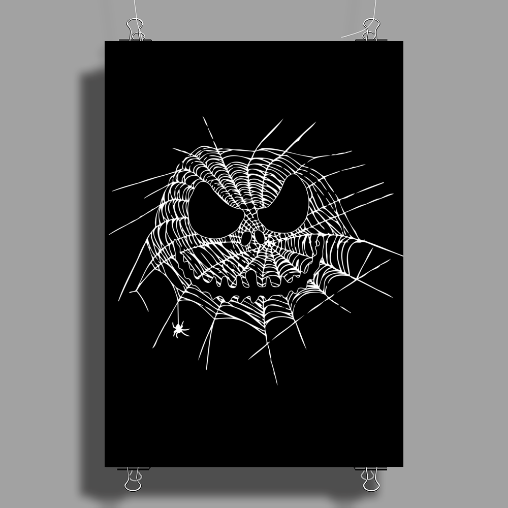 Scary  Web Poster Print (Portrait)