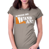 Scheiss die Wand an Womens Fitted T-Shirt
