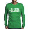 School Cool Teacher Mens Long Sleeve T-Shirt