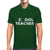 School Cool Teacher Mens Polo