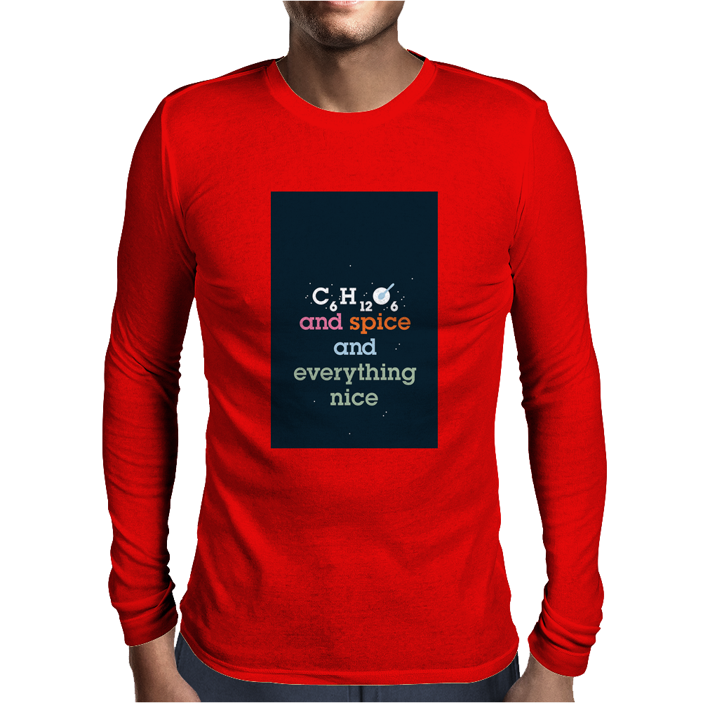 Science twister Mens Long Sleeve T-Shirt