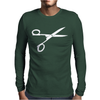 Scissors Mens Long Sleeve T-Shirt