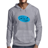 Scnhell, scnell! fish BLUE Mens Hoodie